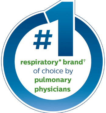 Respiratory* brand of choice by pulmonary physicians